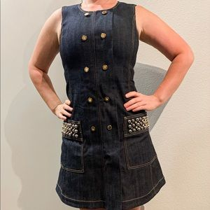 Louis Vuitton denim dress